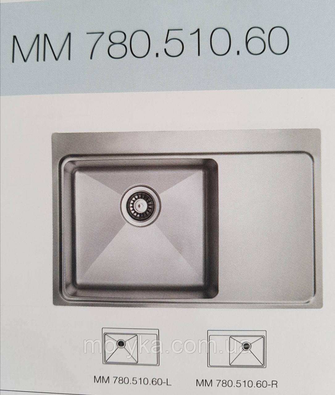 Кухонная мойка Ukinox Micro MMP780.510.60 L