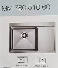 Мойка кухонная Ukinox  MMP780.510.60