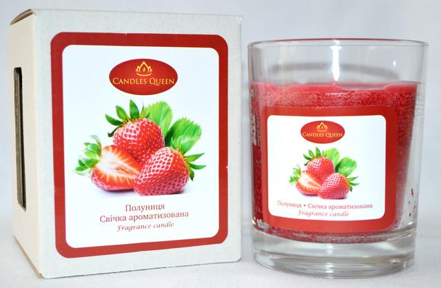 Свеча ароматическая клубника