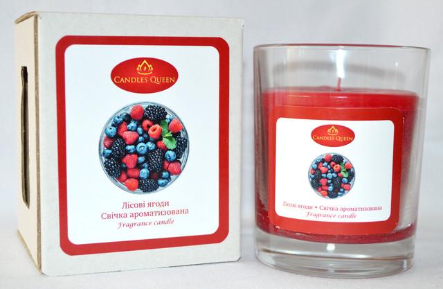 Свеча ароматическая лесные ягоды