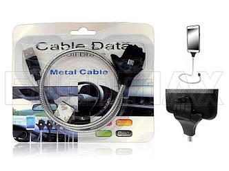 Кабель USB - micro USB металлический рука PALMS-CABLE-V8