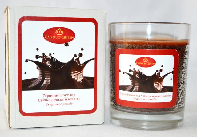 Свеча ароматическая горячий шоколад