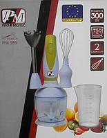 Ручной Погружной Блендер Promotec PM-589 с Чашей