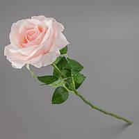 Латексная-искусственная розовая роза.