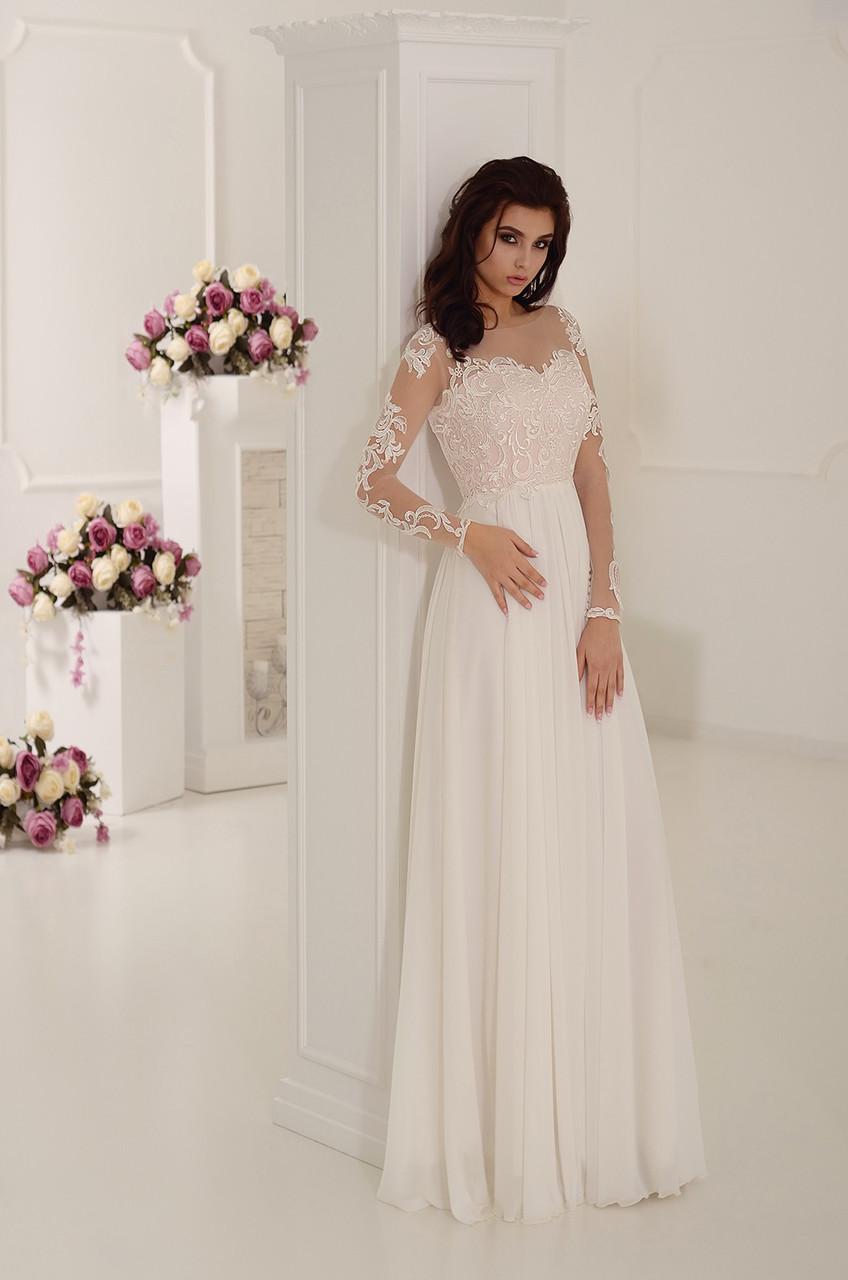 Летящее, нежное, недорогое   свадебное платье