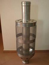 Труба с сеткой под камни для (сауны) из нержавеющей стали 100мм
