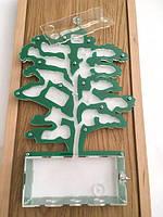 """Акция Акриловая муравьиная ферма """"Зеленое дерево"""" + большая Колония Мессор Структор + 2 вида корма"""