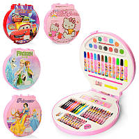 Набор для рисования, карандаши, фломастеры, мелки, краски, 4 вида, MK2111