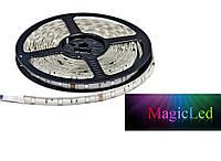 Светодиодная лента 5050 30 LED/m RGB в силиконе