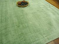 Зеленый ковер однотонный Индийский высокого качества, фото 1