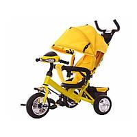 Велосипед детский трехколесный Baby Tilly T-346 Желтый
