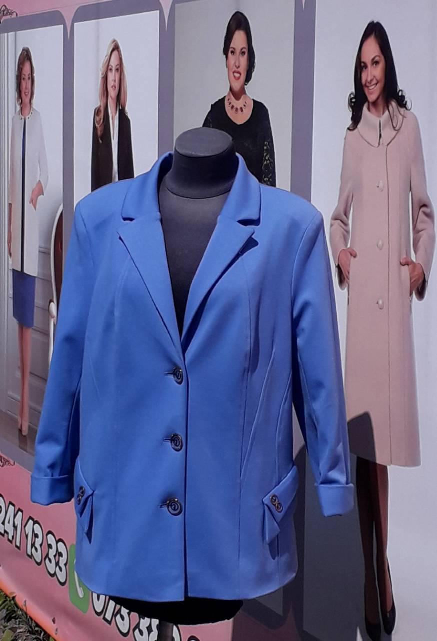 Жакет женский Almatti модель П-02 голубой