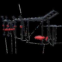 Функціональна рама для кроссфіта з рукоходом і брусами 7 х 2,5 х 2,5 м