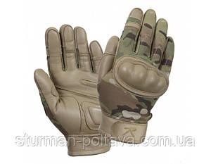 Перчатки армейские  тактические  огнеупорные  мультикам Tactical Gloves Multicam огнеупорные  ROTCHO  США  -XL