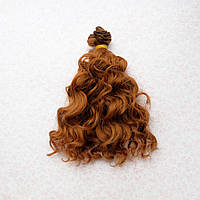 Волосы для кукол озорные кудри в трессах, шангрила - 15 см