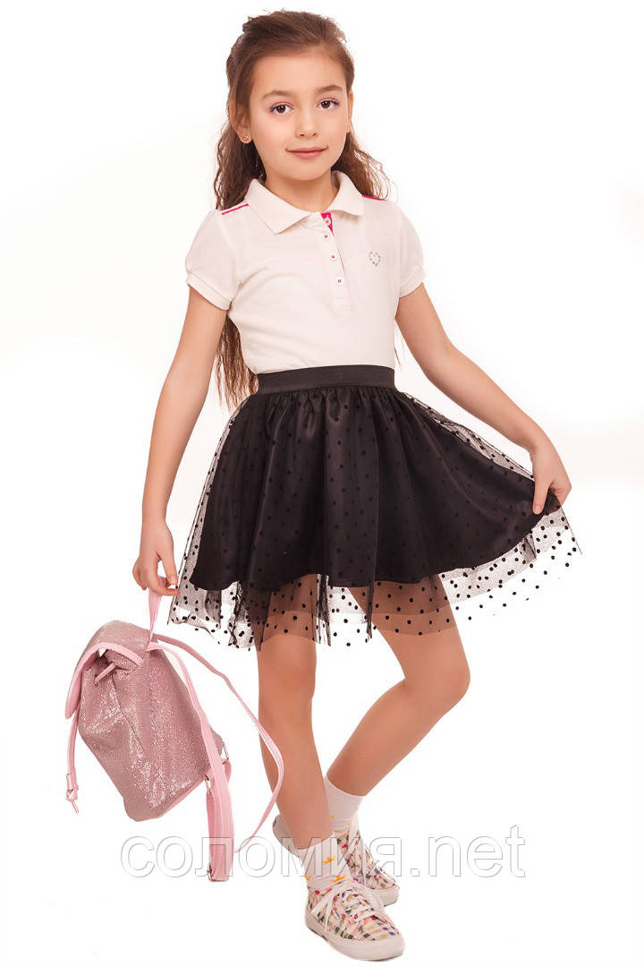 Прекрасная юбка для юных модниц  110-122р
