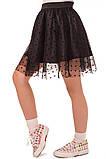 Прекрасная юбка для юных модниц  110-122р, фото 4