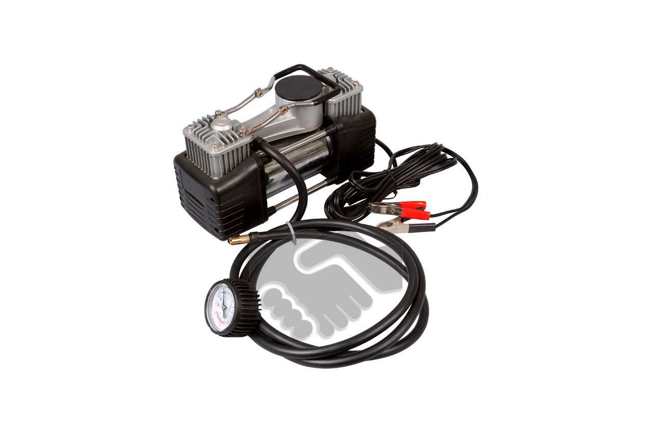 Миникомпрессор автомобильный Miol - двухпоршневой 12 В, 10 bar, 60 л/мин