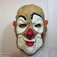 Маска страшного клоуна убийцы на Хэллоуин