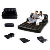 Надувной диван-трансформер Bestway 75056 (188-152-64 см, насос 220V, в сумке)