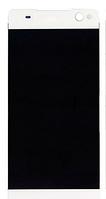 Дисплей (экран) для Sony E5506 Xperia C5 Ultra/E5533/E5553/E5563 + тачскрин, белый, оригинал , фото 1