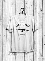 Футболка Defend paris   Футболка мужская Дефенд (реплика)