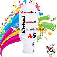 Лубрикант на водной основе American Style 115ml + мини вибратор женский бирюзового цвета , фото 3