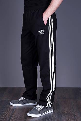 Спортивные штаны Adidas черного цвета (трикотаж). Хмельницкий - фото 2