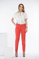 Брюки-джинсы женские Джек Лондон модель 10995 красные
