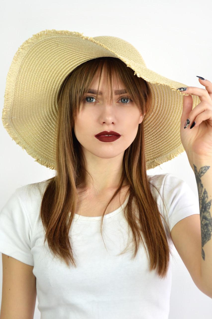 Шляпа Девон песочная