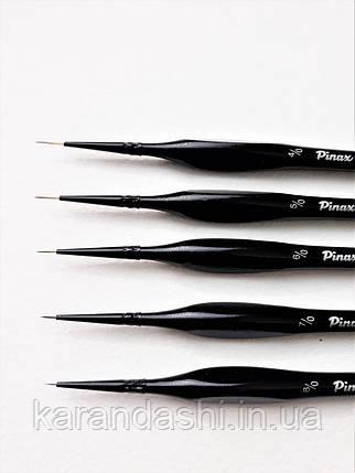 Кисть Pinax Hi-Tech 221 Синтетика № 6/0 круглая споттер, фото 2