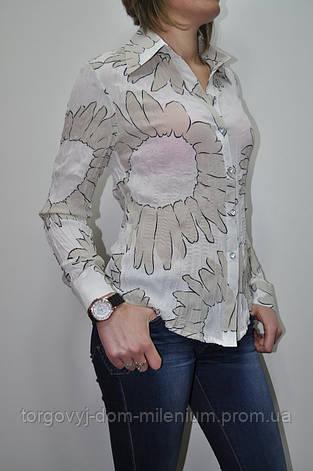 Блузка женская шифоновая размер 44-46 7676, фото 2