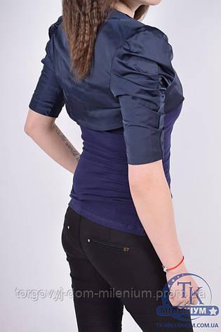 Болеро для девочки(цв.синий)  возраст 10-16 лет 6150, фото 2