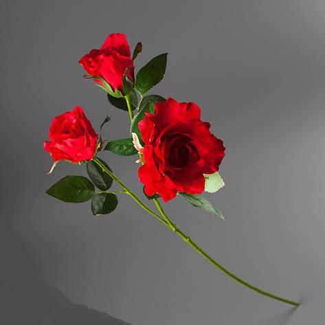 Букет латексных-искусственных красных роз., фото 2
