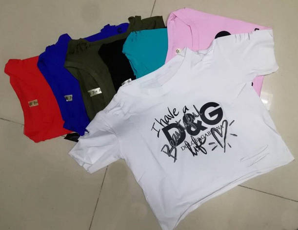 Трендовая с прорезями летняя женская футболка х/б, фото 2