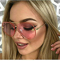 Солнцезащитные очки капли с пчелой