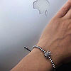 Браслет макраме Silver Crown, фото 6