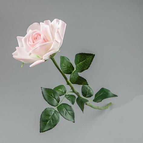 Латексная-искусственная розовая роза., фото 2