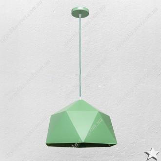 Светильник подвес лофт зеленый 9521