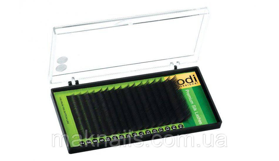 Ресницы D 0.2 (10 мм.)  упаковка Green