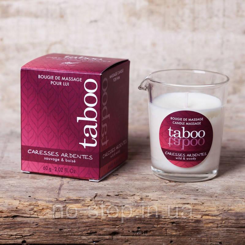Масажна свічка - TABOO Caresses Ardentes, 60 г