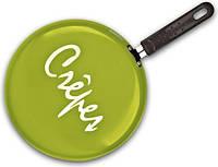 Сковорода для блинов Granchio Crepe d=26 см. оливковая 88273