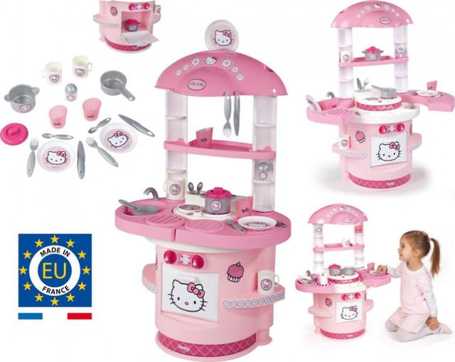 Детская игрушечная кухня Hello Kitty