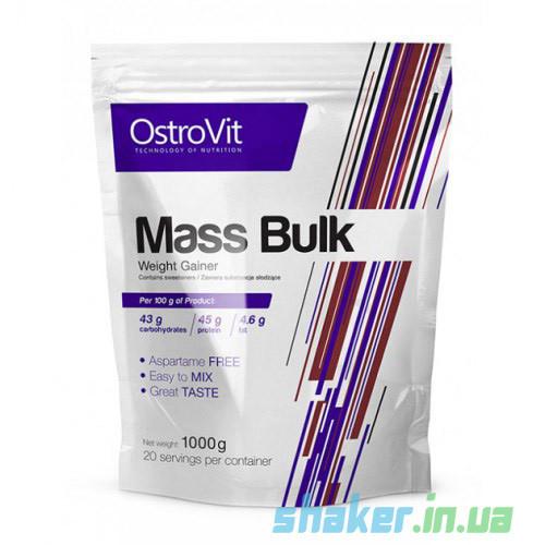 Гейнер для набора массы OstroVit Mass Bulk  (1 кг) островит масс булк white chocolate