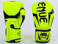 Перчатки боксерские VENUM на липучке PU (Y), фото 1