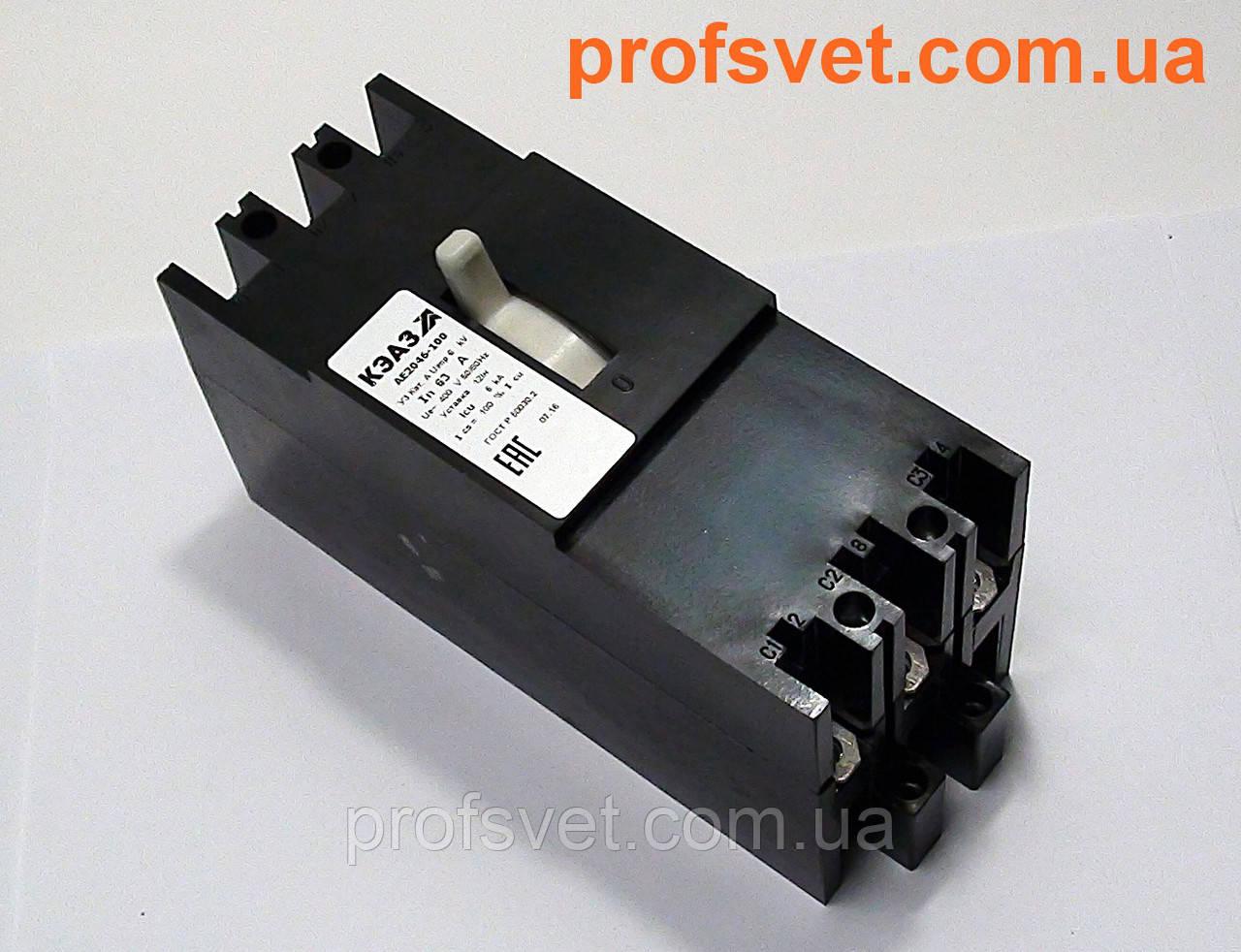 Автоматический выключатель АЕ 2046 31,5А КЭАЗ