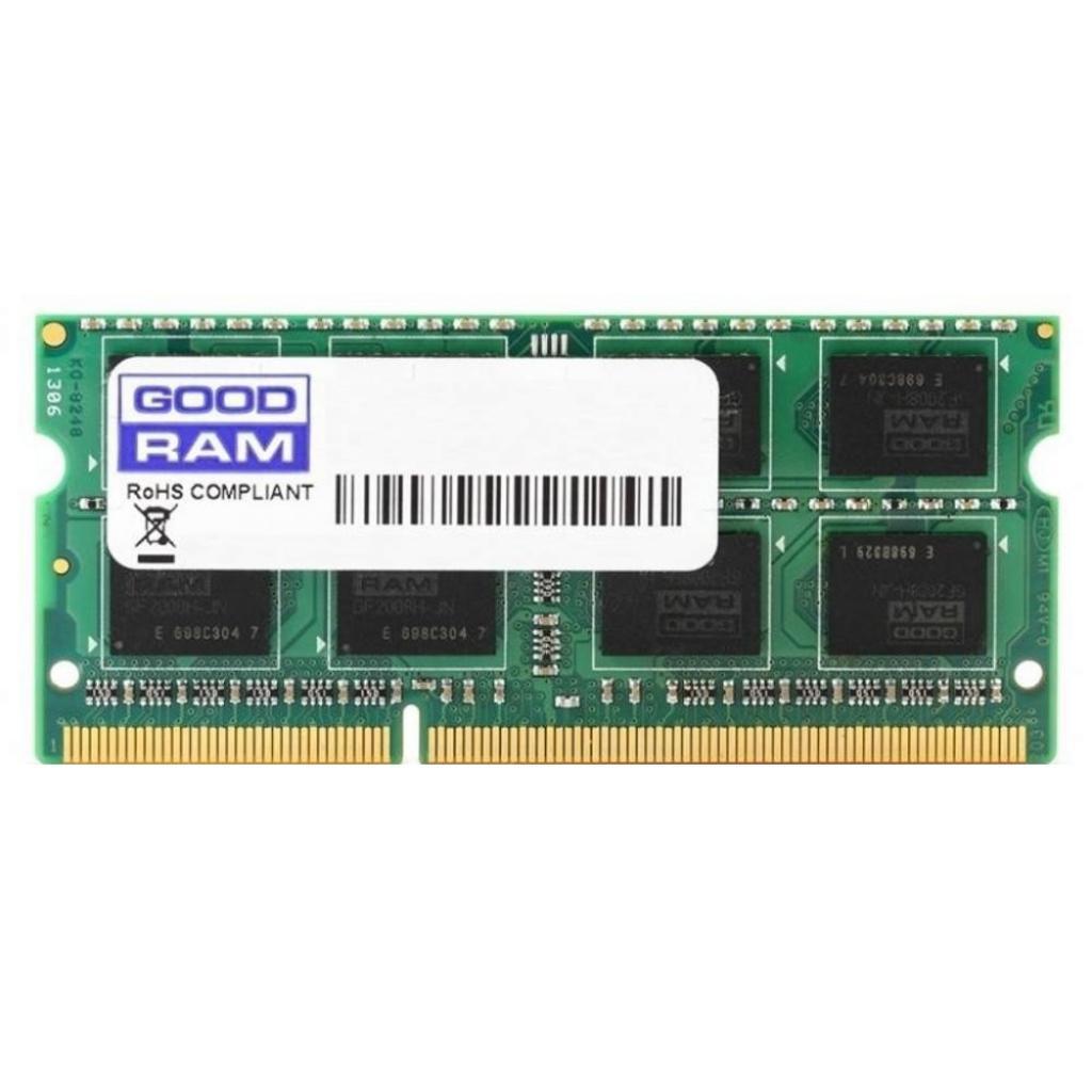 Модуль памяти для ноутбука SoDIMM DDR3 4GB 1600 MHz GOODRAM (GR1600S36