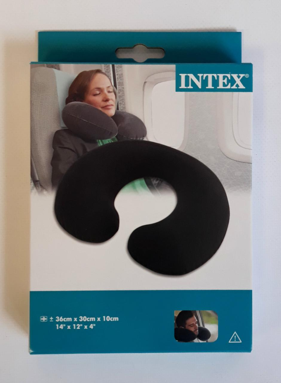 "Подушка надувная велюровая ""Месяц"" 68675 Intex"
