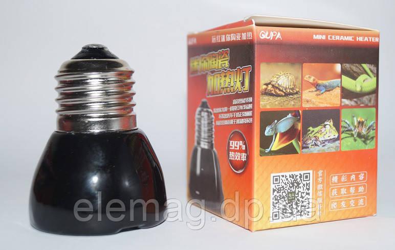 Керамическая инфракрасная лампа 100Вт 45мм