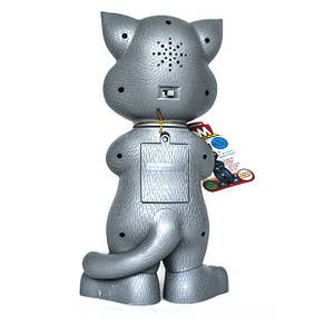 Говорящий кот Том (серый) интерактивная игрушка, фото 2